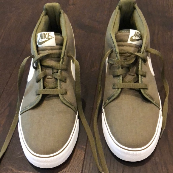 Nike Shoes | Army Green High Tops